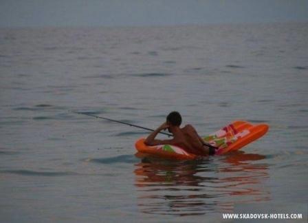 матрасная рыбалка