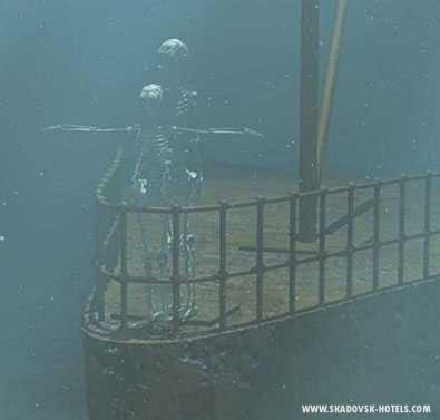 ...где-то в морских глубинах
