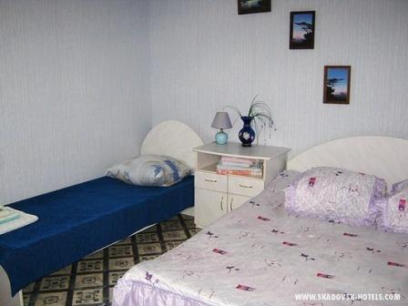 Отель АРКАДИЯ корпус №1,  3-х местный номер