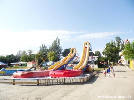 Детские горки в Скадовске